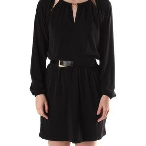 Michael Kors Long sleeve chain neck dress